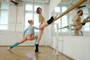 super flexible girl