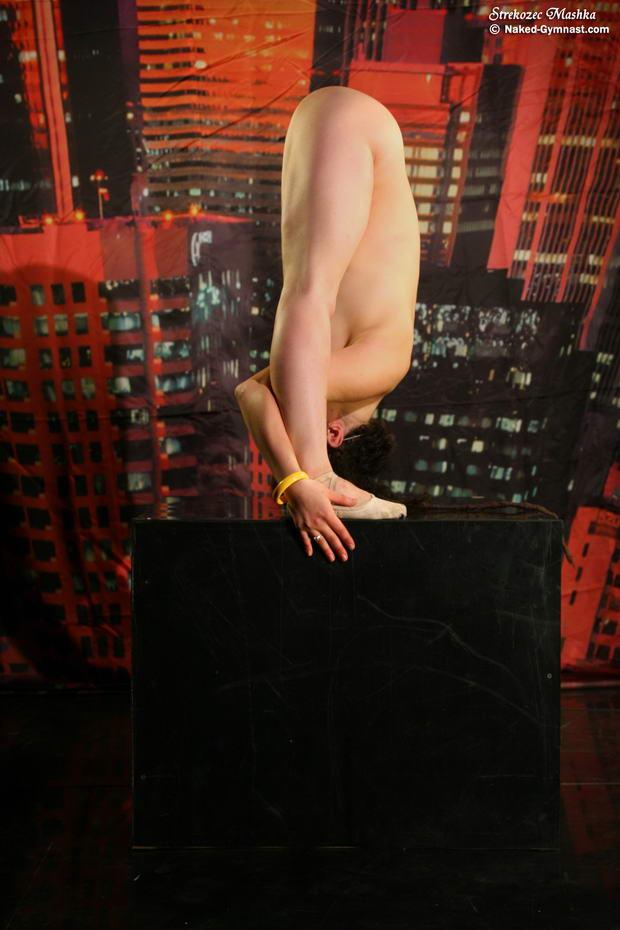 nude ballerina tease